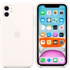 Чехол (Silicone Case) для iPhone 11 Original White