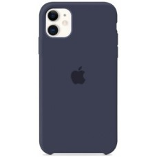 Чехол (Silicone Case) для iPhone 11 Original Midnight Blue