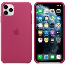 Чехол (Silicone Case) для iPhone 11 Original Pomegranate