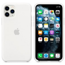 Чехол (Silicone Case) для iPhone 11 Pro Original White