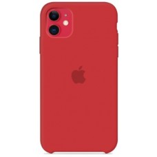 Чехол (Silicone Case) для iPhone 11 Original Red