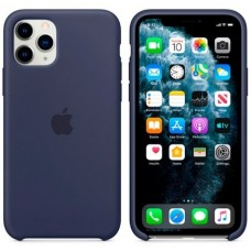 Чехол (Silicone Case) для iPhone 11 Pro Max Original Midnight Blue