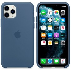 Чехол (Silicone Case) для iPhone 11 Pro Max Original Alaskan Blue