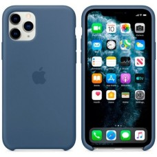 Чехол (Silicone Case) для iPhone 11 Pro Original Alaskan Blue