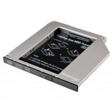 Фрейм-переходник Grand-X HDD 2.5'' to notebook 9.5 mm ODD SATA/mSATA (HDC-24N)