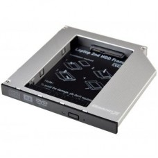 Фрейм-переходник Grand-X HDD 2.5'' to notebook 12.7 mm ODD SATA/mSATA (HDC-25N)