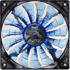 Кулер для корпуса AeroCool Shark Fan Blue LED