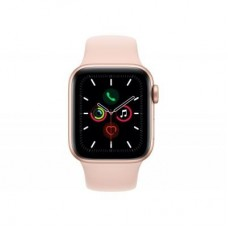 Смарт-часы Apple Watch Series 5 GPS, 44mm Gold Aluminium Case with Pink Sand (MWVE2UL/A)
