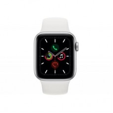 Смарт-часы Apple Watch Series 5 GPS, 40mm Silver Aluminium Case with White Sp (MWV62UL/A)