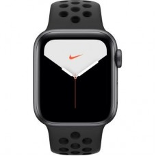 Смарт-часы Apple Watch Nike Series 5 GPS, 44mm Silver Aluminium Case with Pur (MX3W2GK/A)