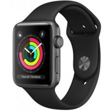 Смарт-часы Apple Watch Series 3 GPS, 38mm Space Grey Aluminium Case with Blac (MTF02GK/A)