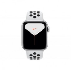 Смарт-часы Apple Watch Nike Series 5 GPS, 40mm Silver Aluminium Case with Pur (MX3R2UL/A)