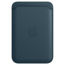 Чехол для моб. телефона Apple iPhone Leather Wallet with MagSafe - Baltic Blue (MHLQ3ZM/A)