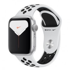 Смарт-часы Apple Watch Nike Series 5 GPS, 44mm Silver Aluminium Case with Pur (MX3V2UL/A)